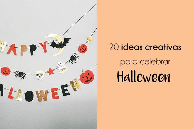 Recopilarotio con 20 ideas creativas y sencillas para celebrar