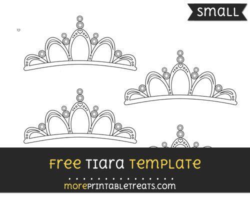Free Tiara Template - Small | Templates printable free ...