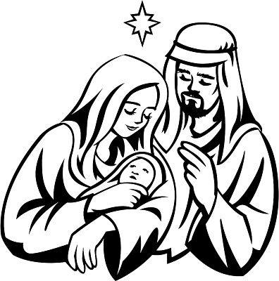 Mary Mother Of God Clipart Clipart Best Jesus Drawings Jesus Mary And Joseph Cute Baby Drawings