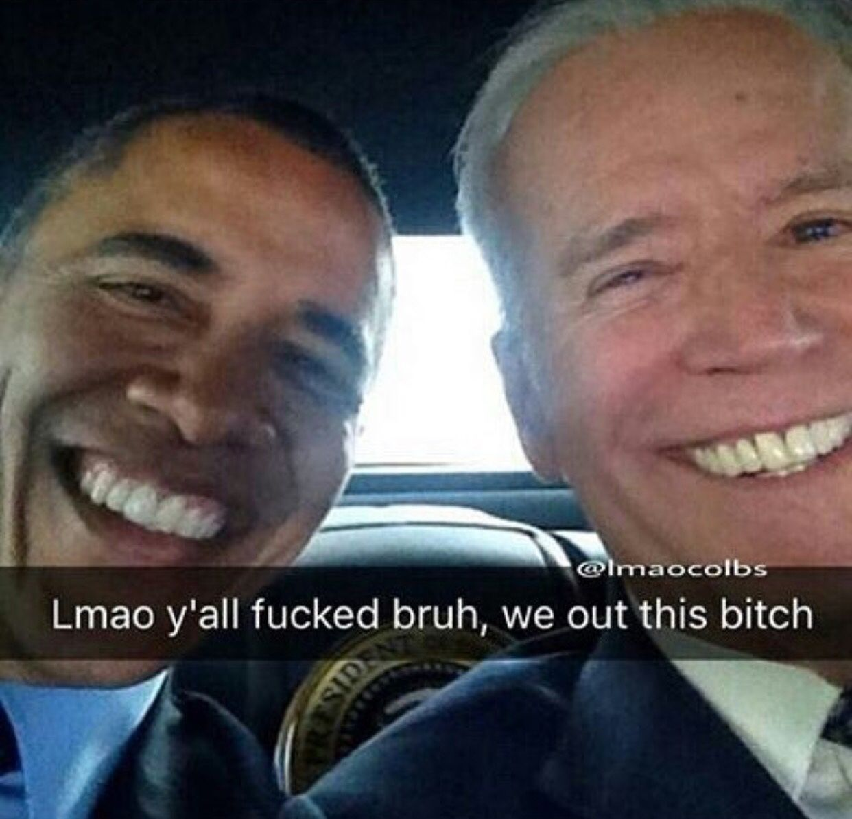 Pin By Kayla Nelson On Funny Stuff Memes Laughter Obama Biden