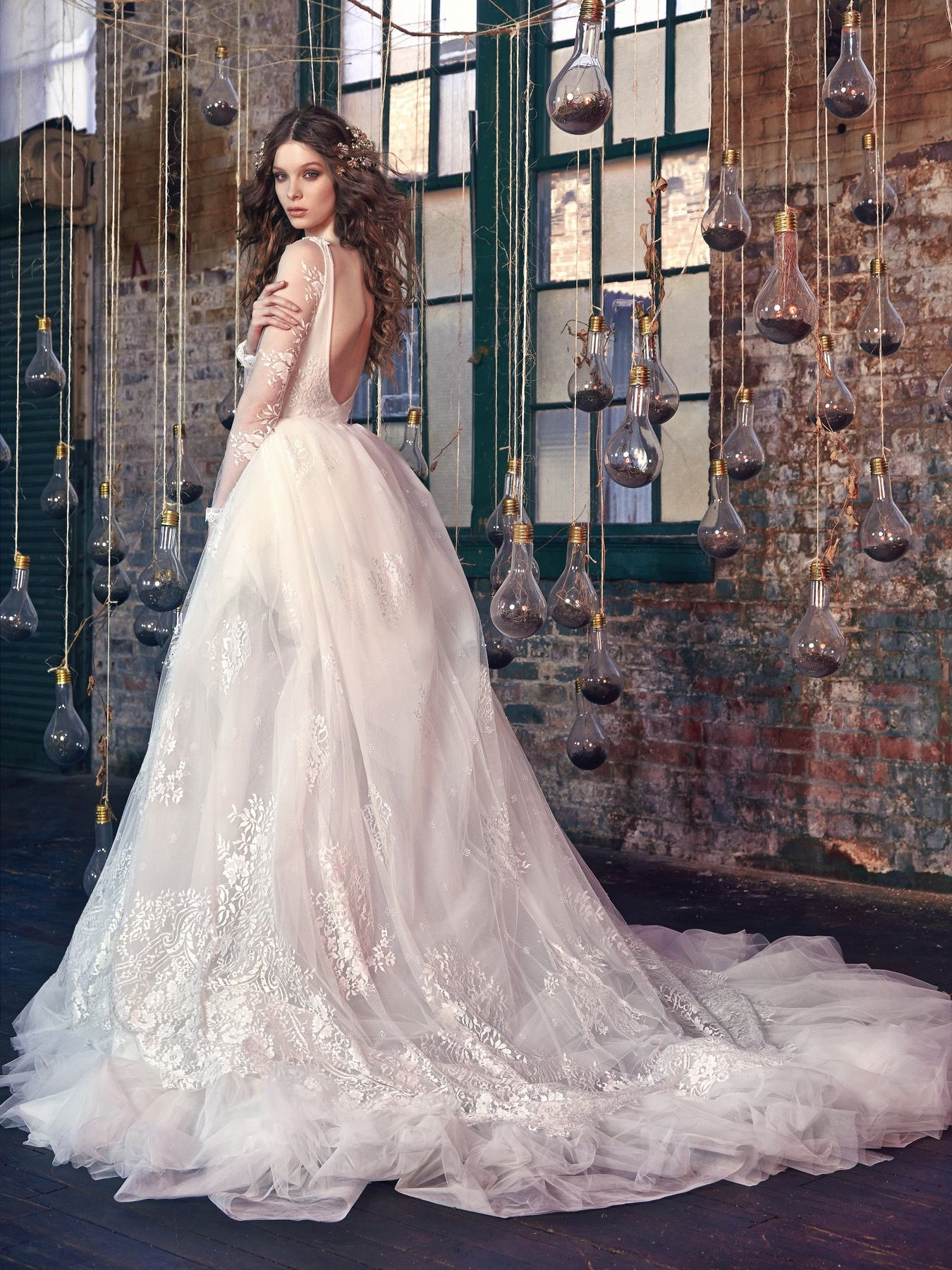 Snow White-Back | Bride | Pinterest | Galia lahav, Snow white and ...