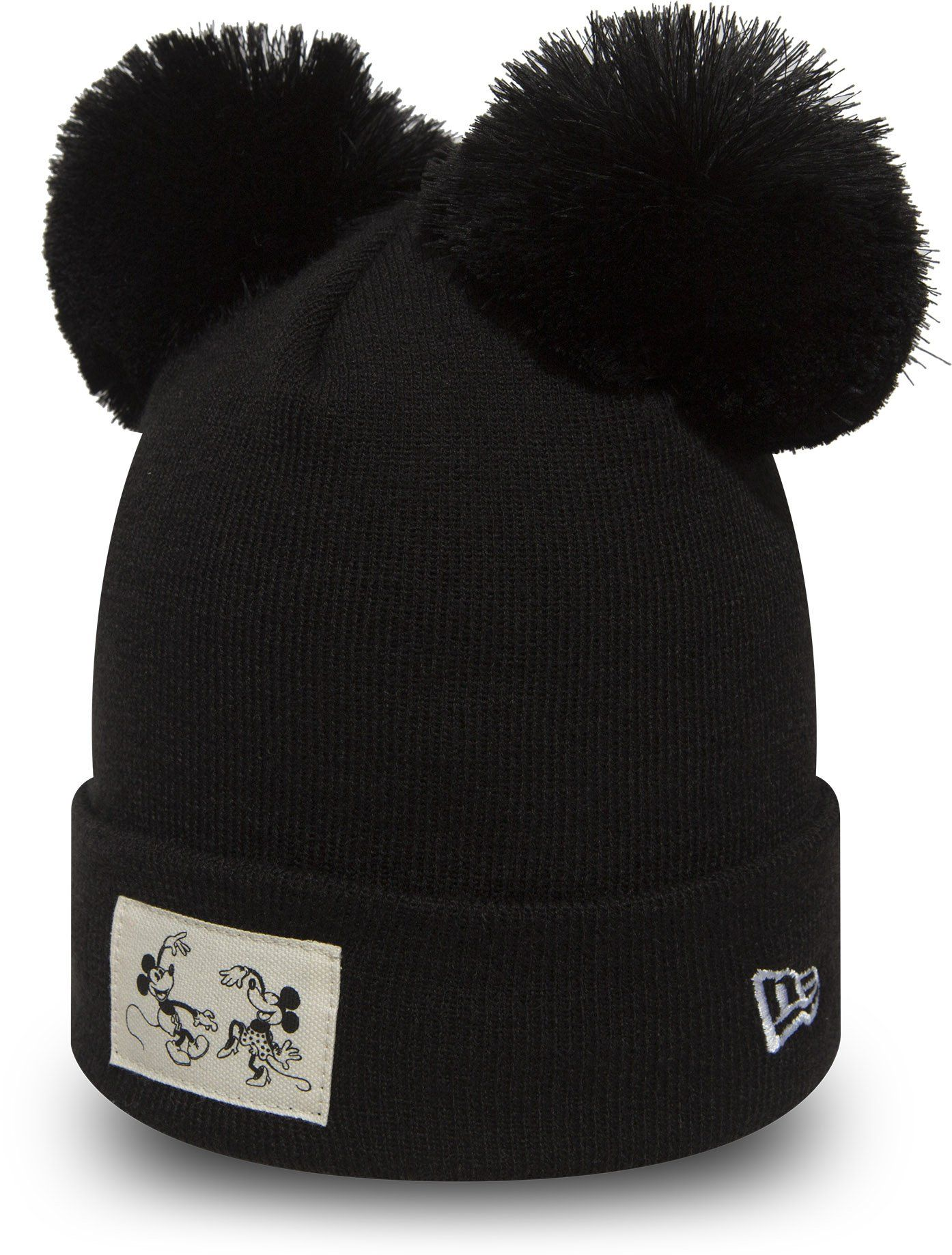 Minnie Mouse Womens New Era Disney Knit Double Pom Bobble Hat – lovemycap bd218fd1002