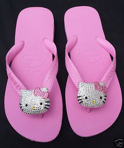 Adult Hello Kitty Flip Flops  6a36468cce4dd