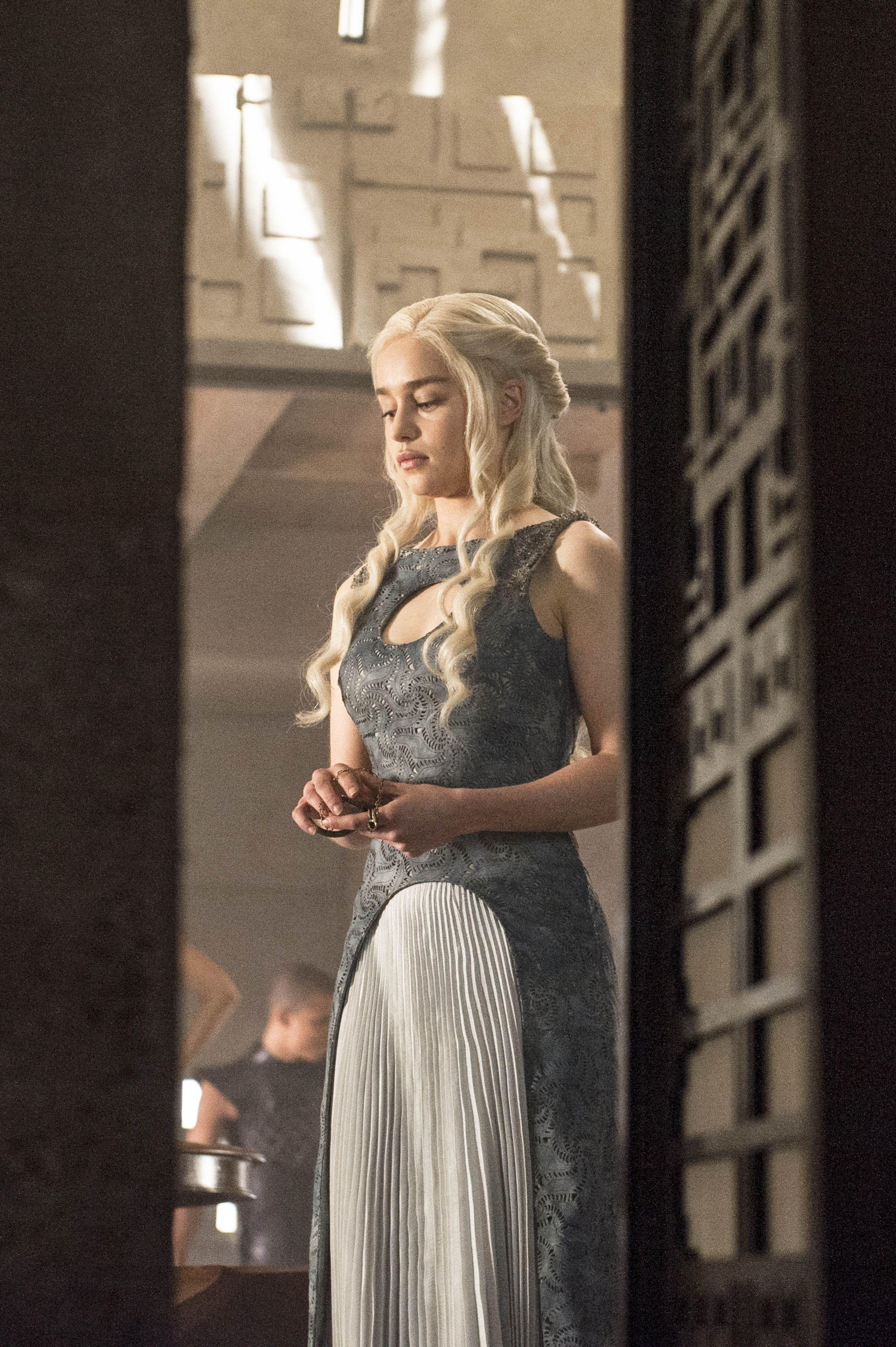 Emilia Clarke as Daenerys Targaryen Game of Thrones