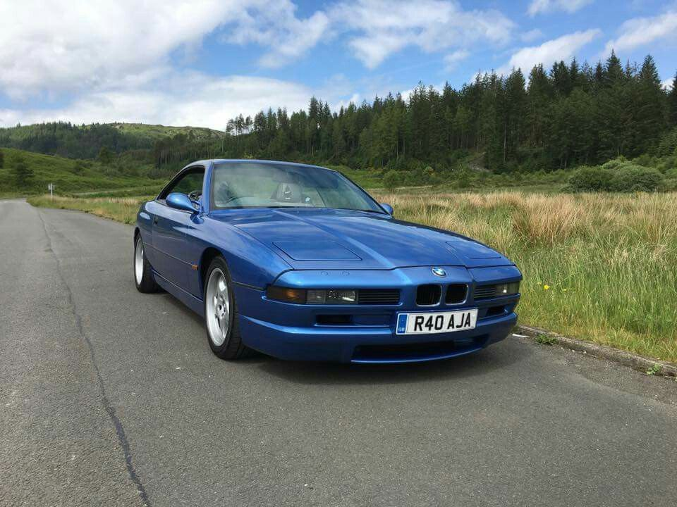 Bmw 8 Series Blue With Images Good Looking Cars Bmw Cars Bmw