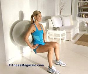 fitness magazine top ten moves for thinner thighs