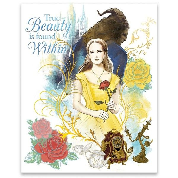 True Beauty is Found Within Canvas Art Print ($30) ❤ liked on ...