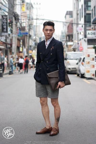 Shorts and Blazer Combo