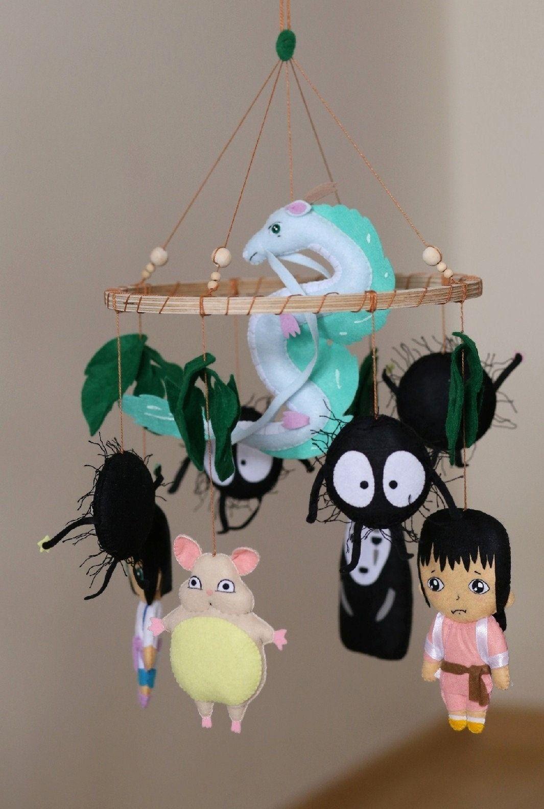 Studio Ghibli Mobiles Edna Wronski on Etsy See our or Ghibli tags -