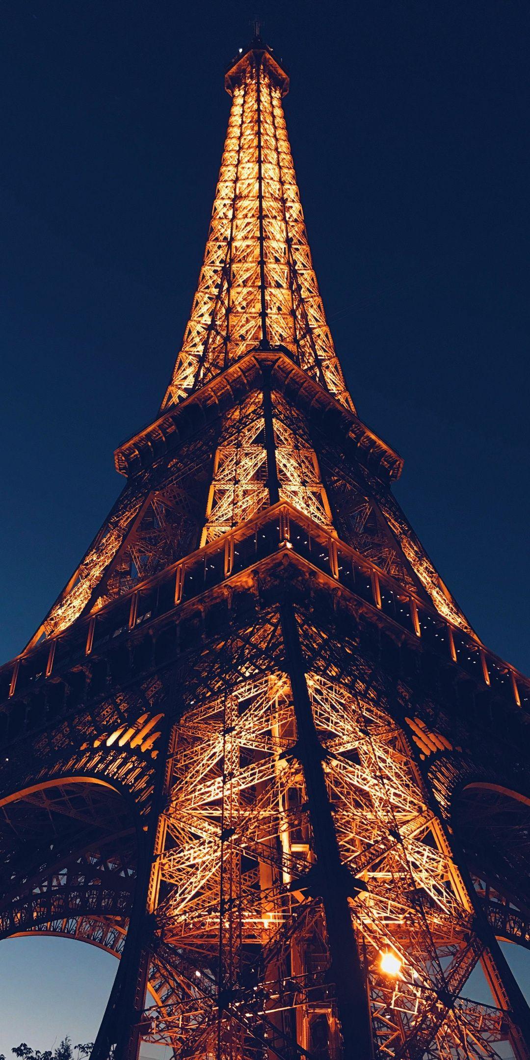 Обои ночной париж. Города foto 14
