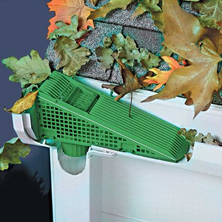 Gutter Wedge Downspout Screen 12 00 For 2 Garden Solutions Downspout Landscape Drainage