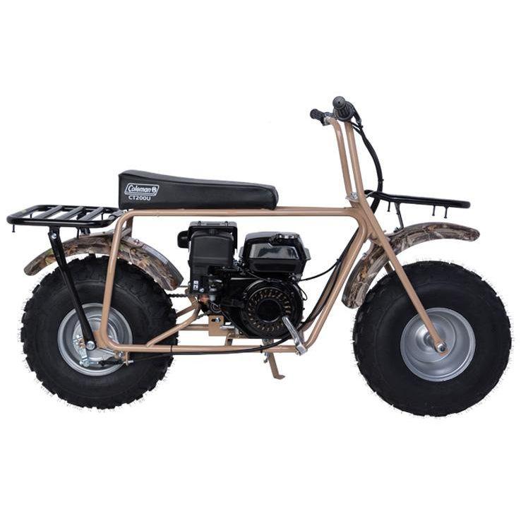 Coleman Powersports Ct200u Trail 200 Mini Bikes Camo Mini Bike Bike Mini Motorbike