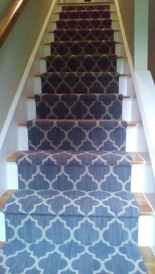 Taza Carpet From Tuftex Carpets Of California On Staircase