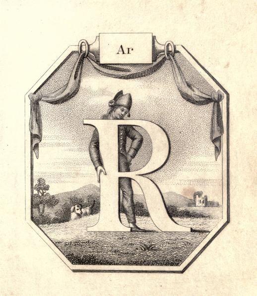 Ar R Vintage Childrens ABCs Flash Cards