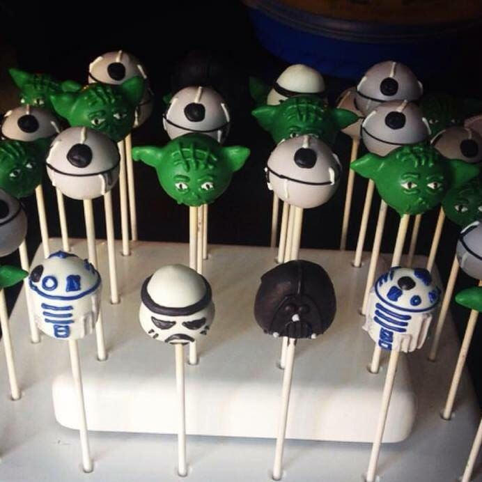 Star Wars Cake Pops By Delishcakepops On Etsy Https Www Etsy Com