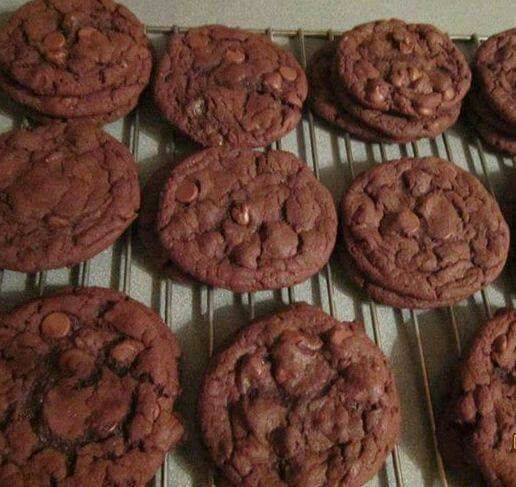 Chocolatecakemix cookies