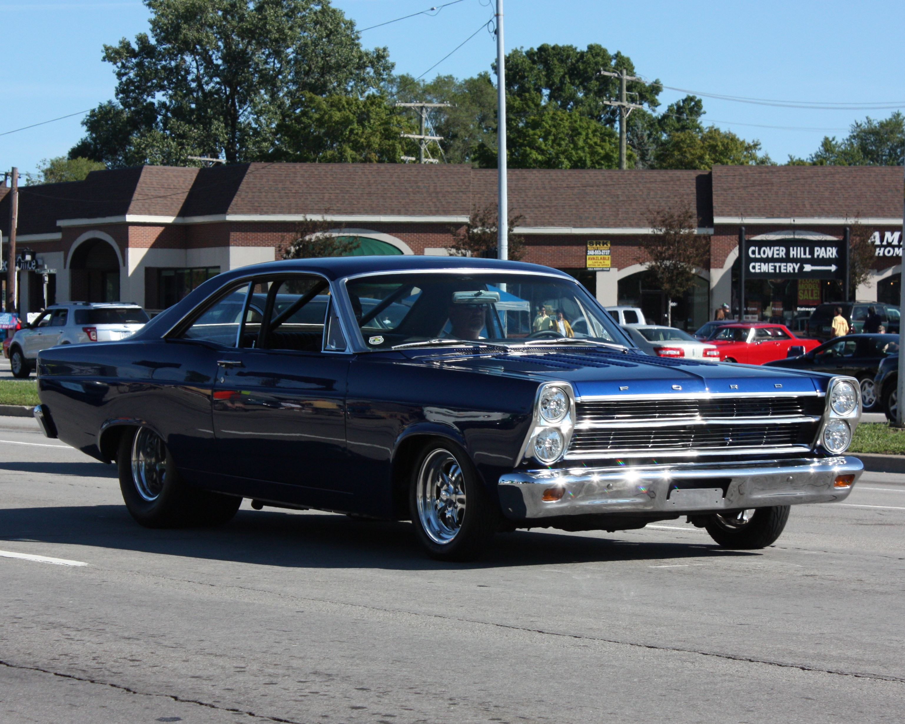 1965 ford galaxy pro street wrong description by whomever pinned this is a 66 not a 65  [ 3075 x 2460 Pixel ]