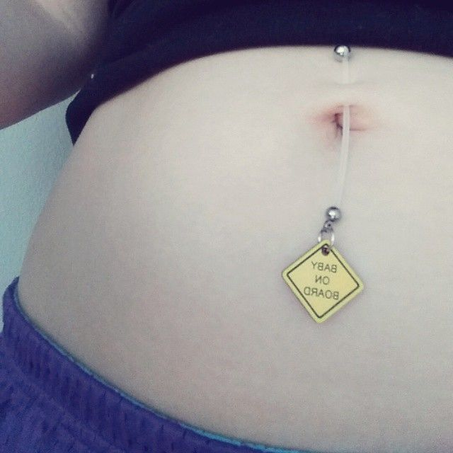 Baby On Board Pregnant Belly Ring Ring Pregnancy And Babies