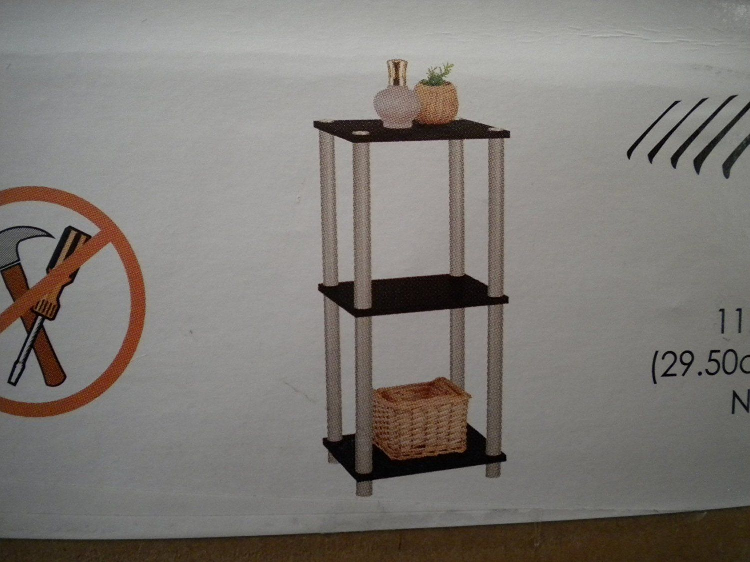 3 Tier Accent Shelf Quickly View This Special Product Click The Image Corner Shelves Shelves Corner Shelves Decor