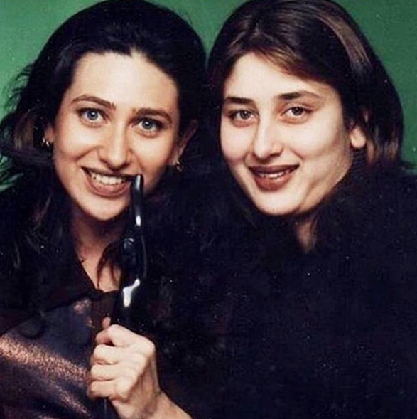 Karisma Kapoor Shares A Throwback Pic Of Sister Kareena Kapoor Khan Karisma Kapoor Favorite Celebrities Kareena Kapoor Pics