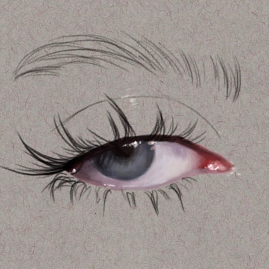 Art Emotion On Instagram Beautiful Eye Painting By