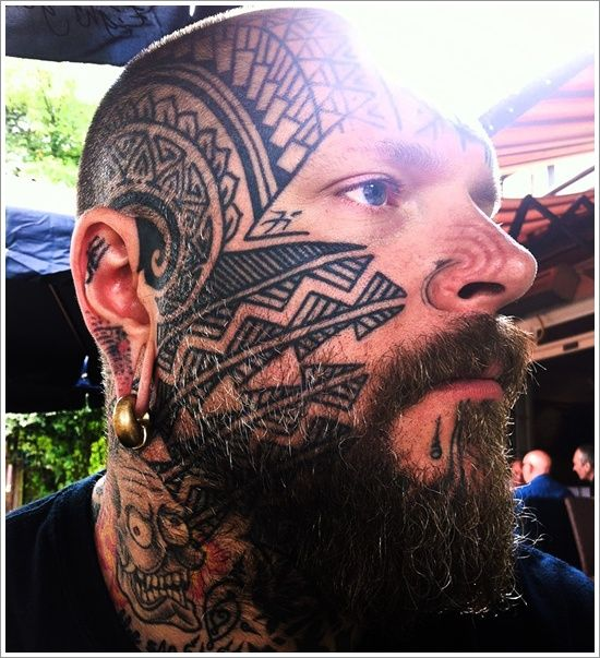 10 Best Facial Tattoo Designs Ever: 40 Absolutely Outrageous Face Tattoos That'll Make You