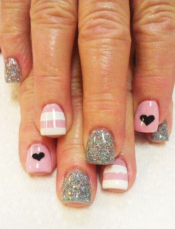 70 Cute Pink Nail Art Designs For Beginners Pink Nails Nail Nail