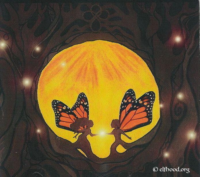 Wing Root Union #mythic art #soulmates #divine union