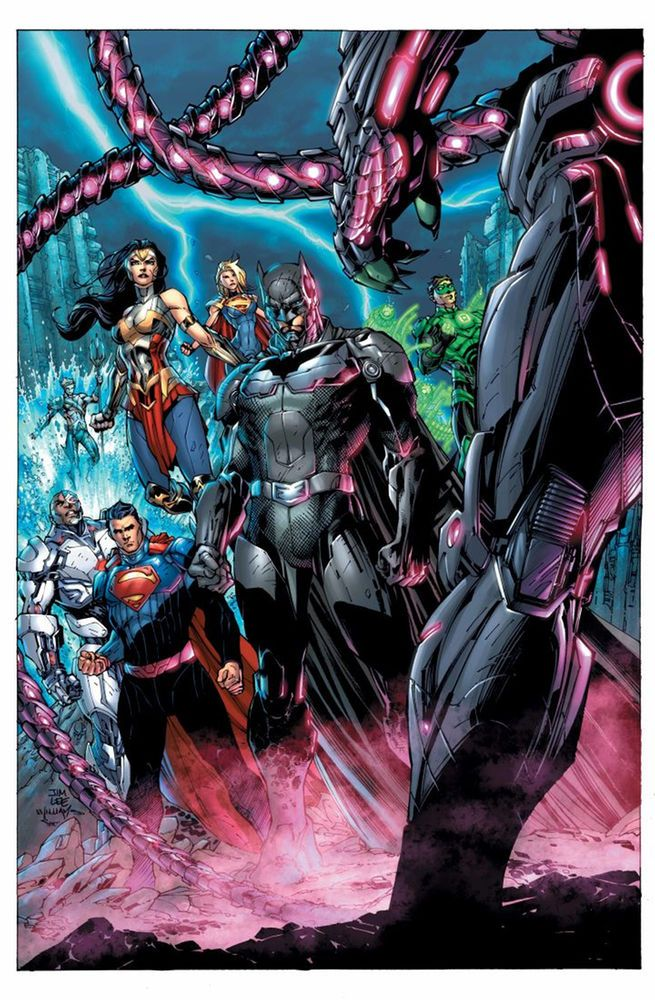 JIM LEE brings a big bad to the INJUSTICE universe.