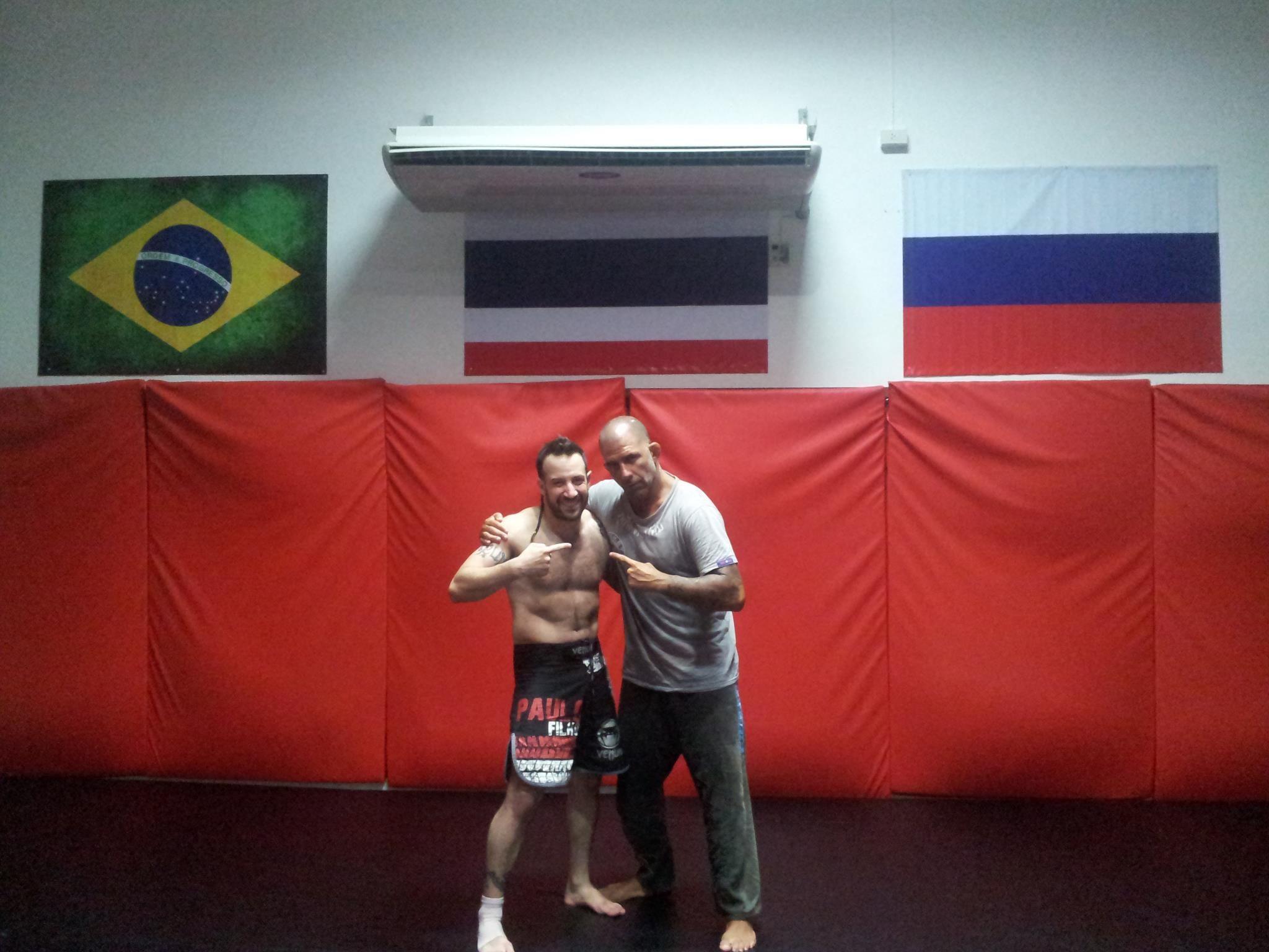 With My Bjj Master Prof Olavo Abreu Carlson Gracie Thailand