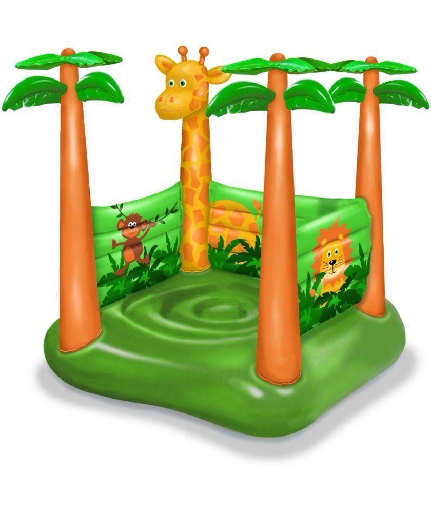 913cb6588 Safari Bouncy Castle  Amazon.co.uk  Toys   Games