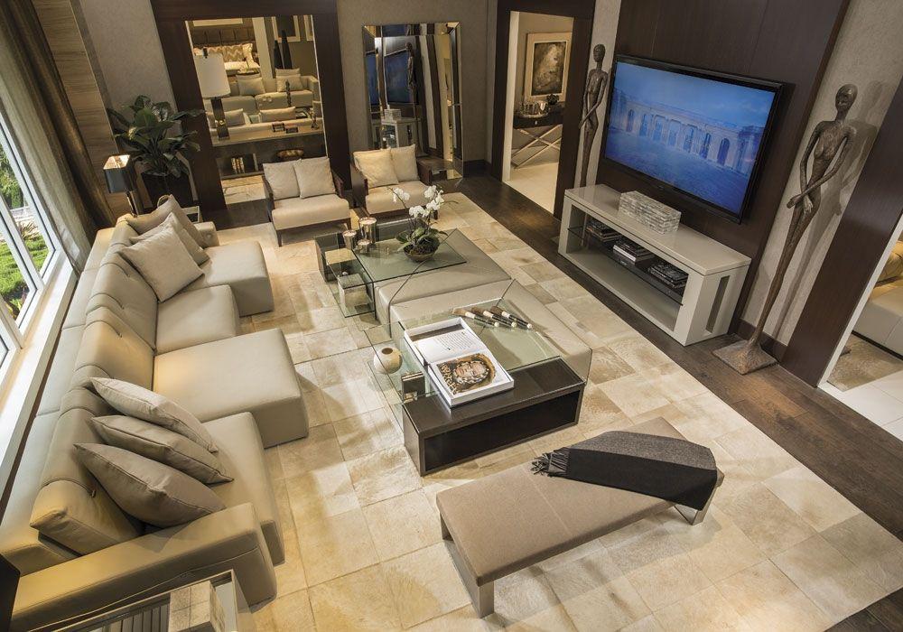 Image 4 Of 10 House Design Living Room Decor Modern Million Dollar Rooms