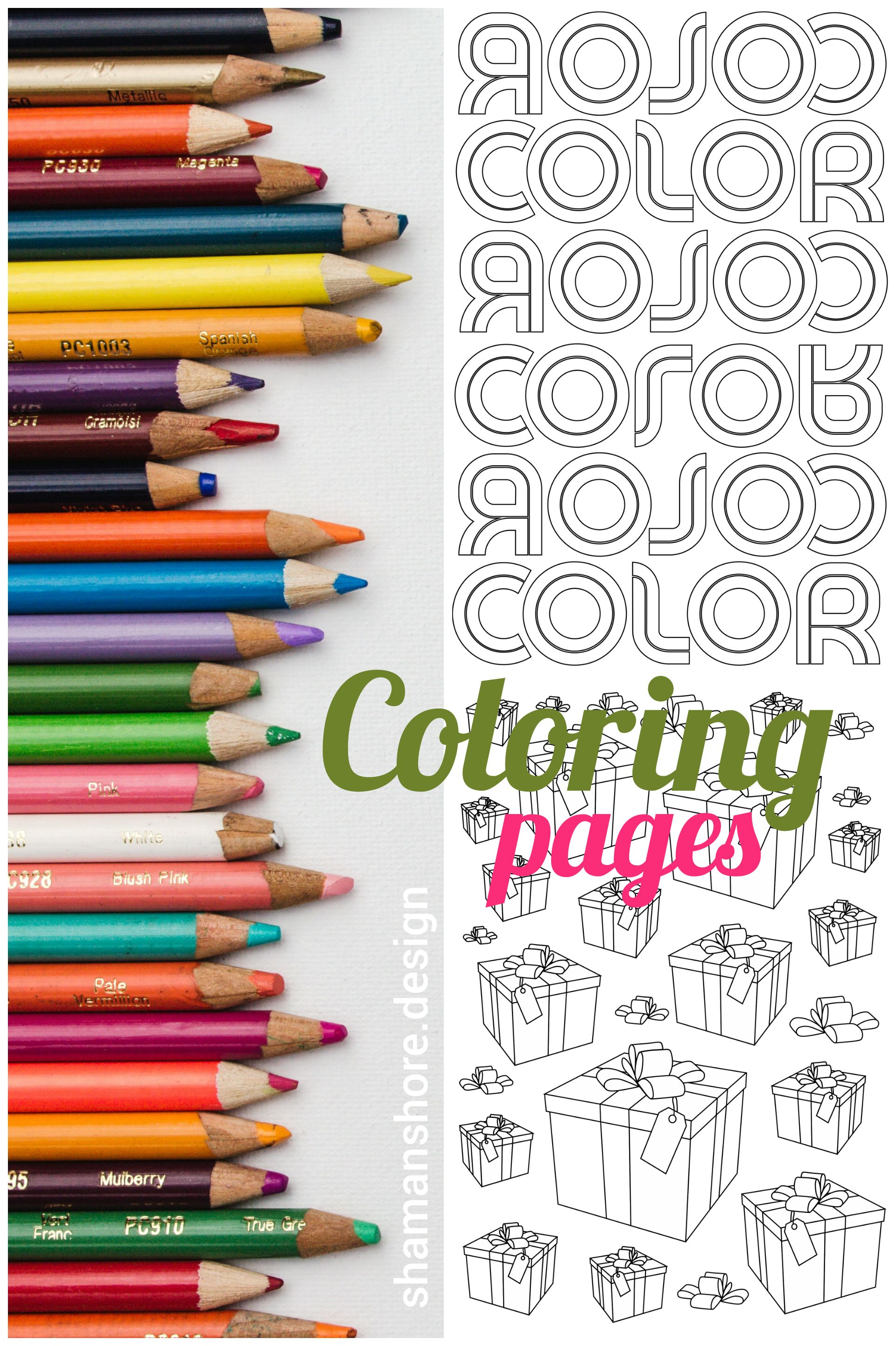 Simple coloring pages for big kids printable coloring pages for