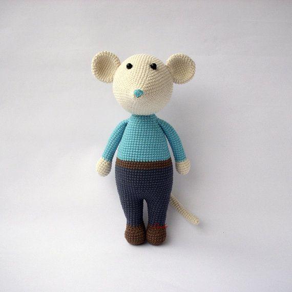 PDF Mouse Gigio and Gigie Crochet Toy DIY tutorial