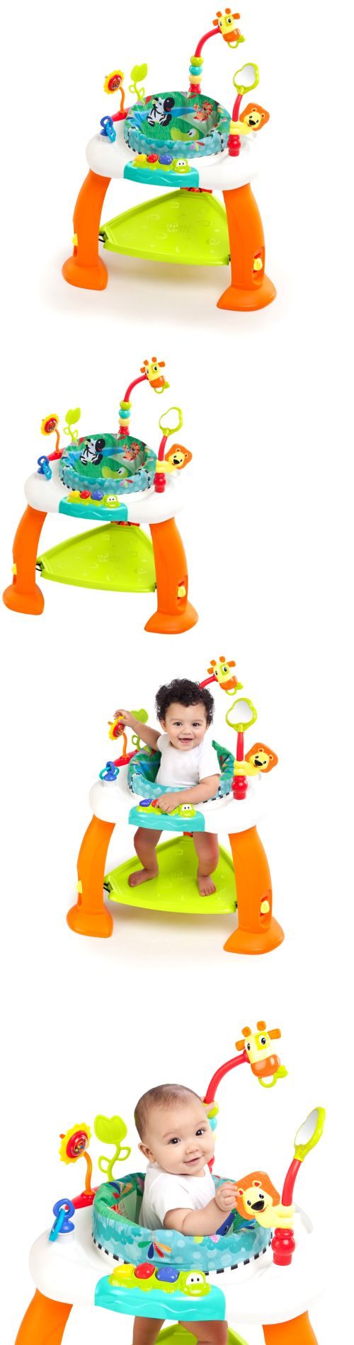 40db69835 Baby Exercise Bouncer Jumper Exersaucer Child Learning Activity Pad ...