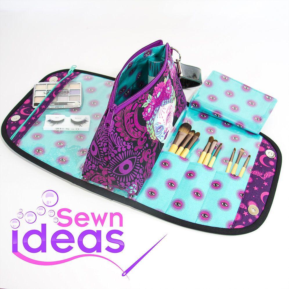 Beauty Makeup Bag sewnideas (With images) Makeup bag