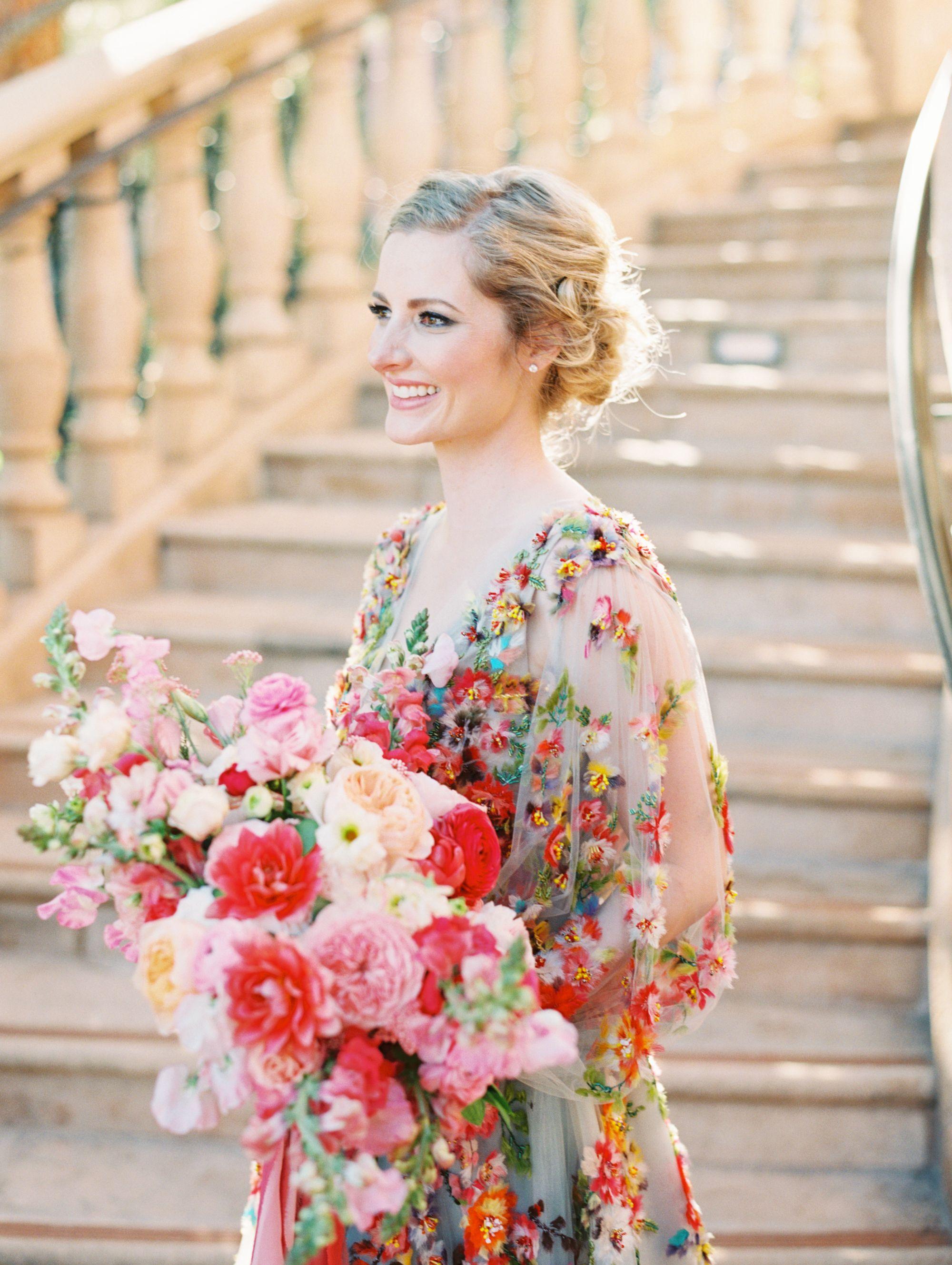 beautiful natural bridal hair and makeup | fairmont grand
