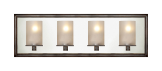 LUND 4-LIGHT LINEAR SCONCE