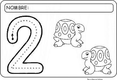 29 Fichas Para Trabajar Numero 2 Infantil Número 2 Número Y Números
