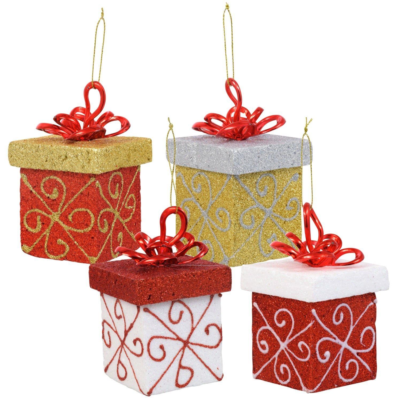 Bulk Christmas House Glittery Gift
