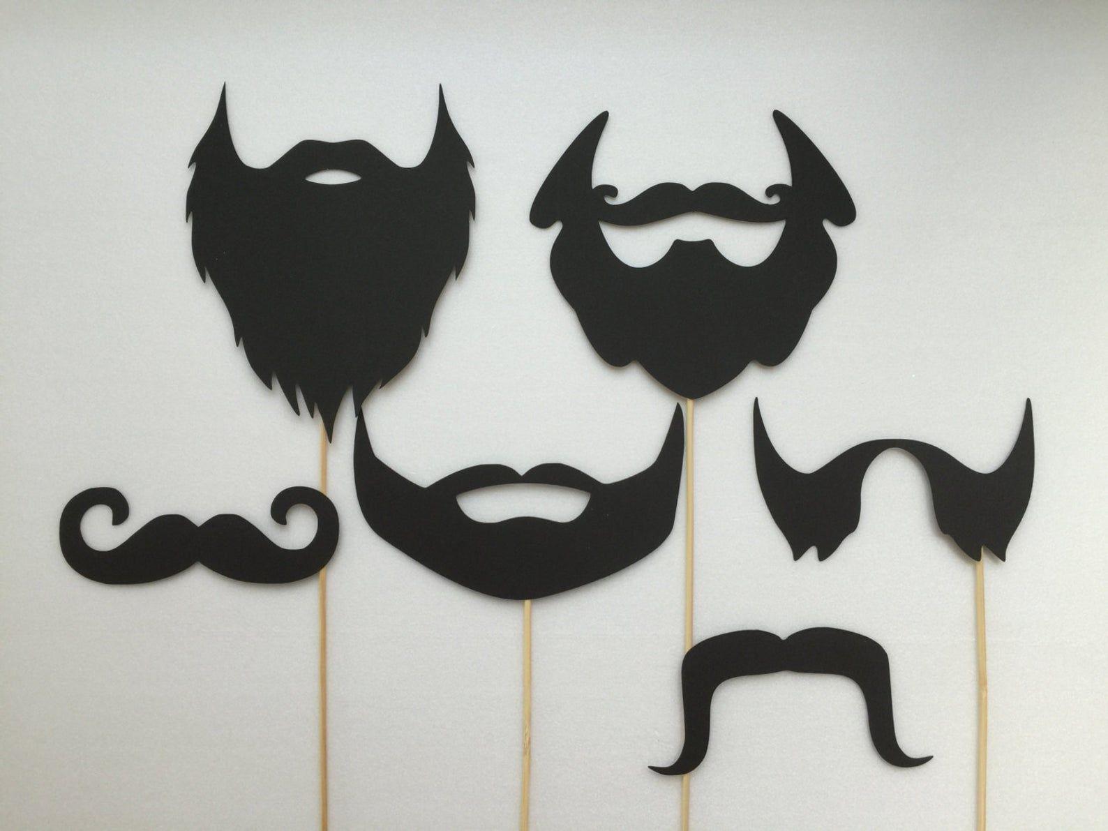 Barbes Et Moustaches Photobooth Accessoires Vacances Photo Booth Accessoires Ensemble De 6 Fotorequisiten Photobooth Ideen Fotobooth Hochzeit