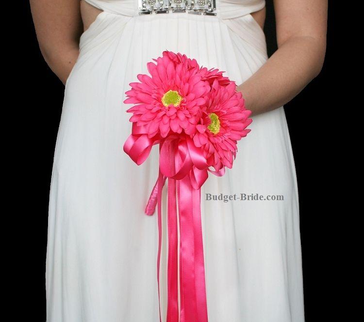 Small Gerbera Daisy Wedding Bouquet, small bridesmaid bouquet ideas ...