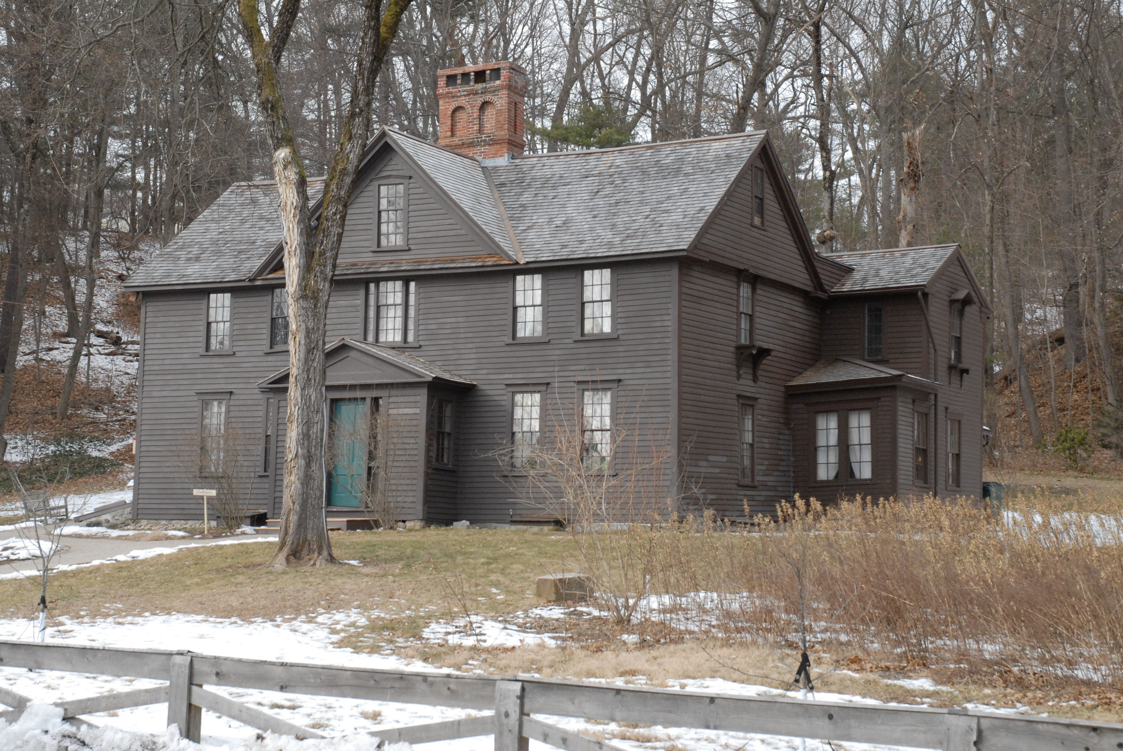 Orchard House Family Home Of Louisa May Alcott Author Of Little