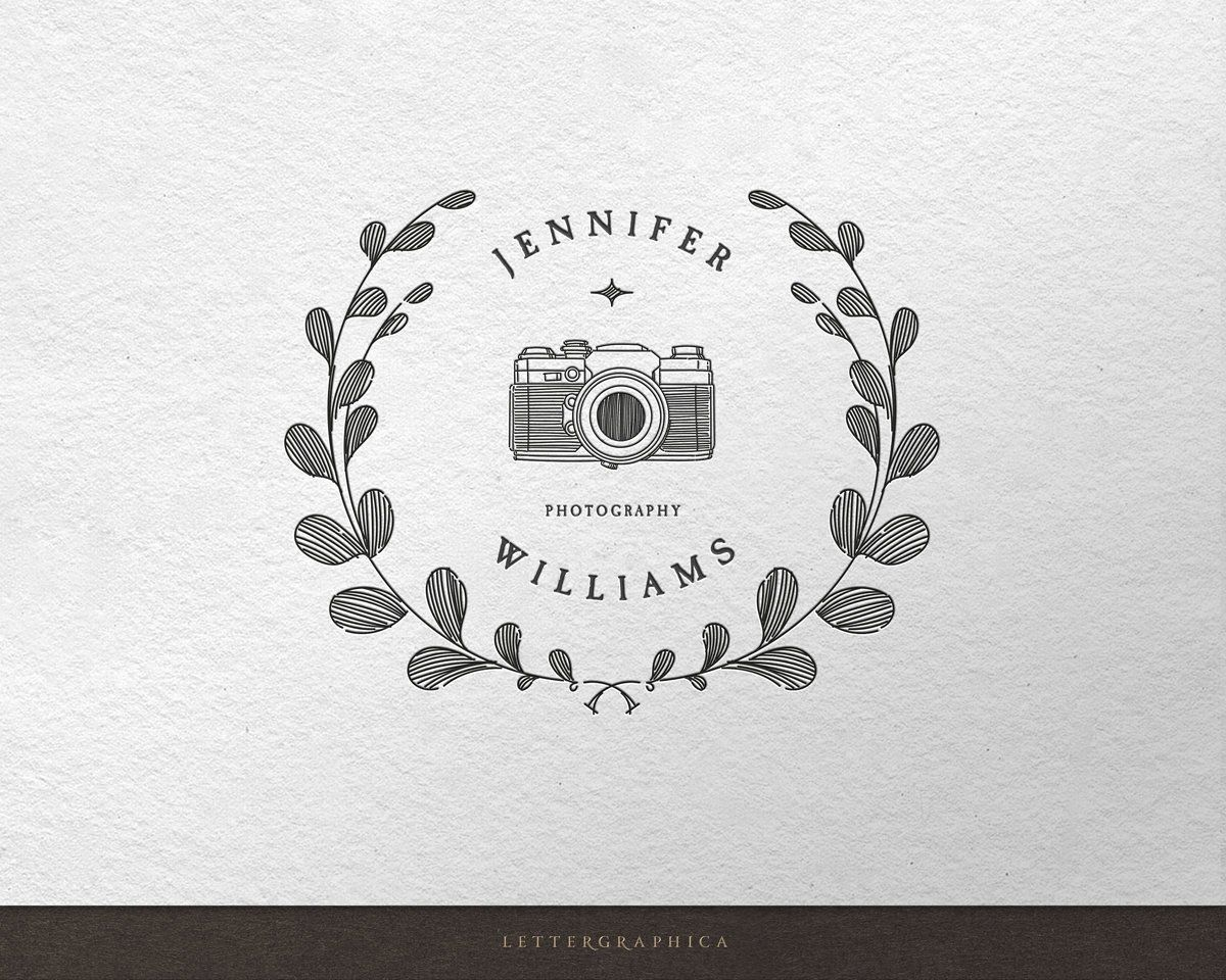Premade Logo Design Photography Logo Custom Logo Logos and