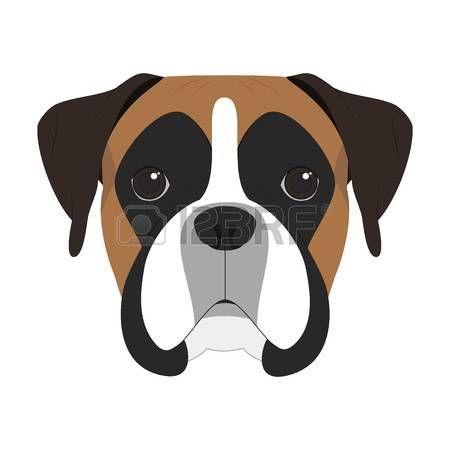 image result for boxer dog clipart boxer dog pinterest dog and rh pinterest co uk boxer dog clip art free boxer dog face clipart