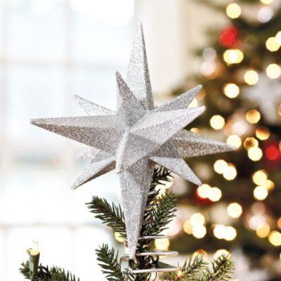 Suzanne Kasler Glittered Star Tree Topper Christmas! Pinterest