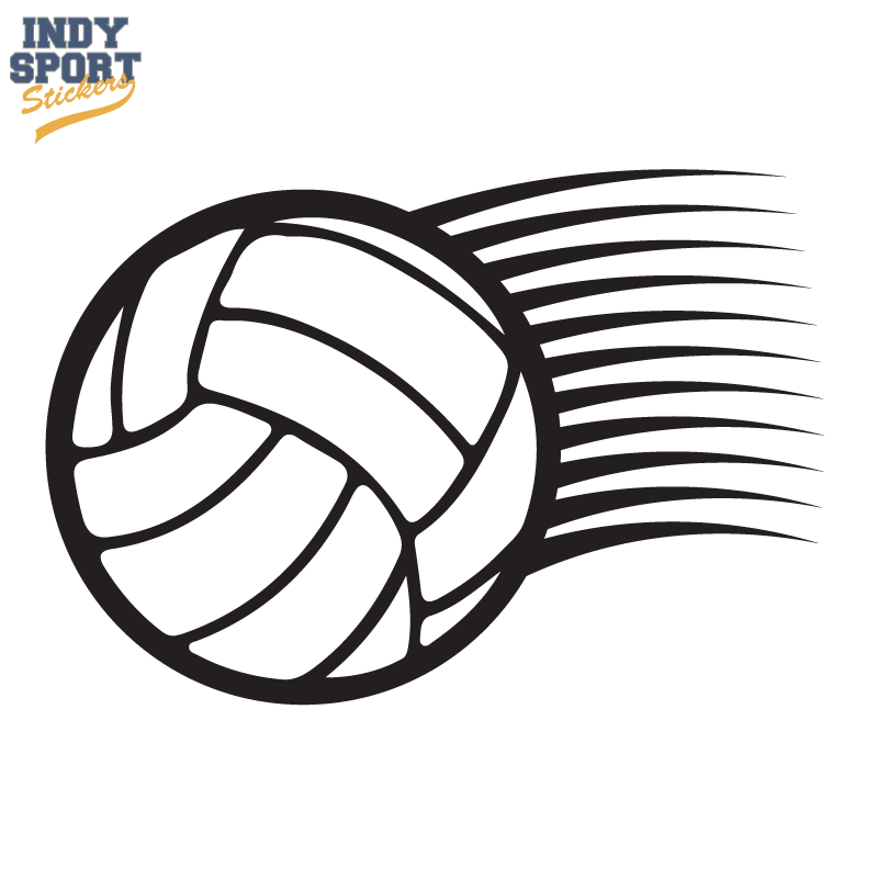 Volleyball Archives Indy Sport Stickers Decals Volleyball Sports Graphics Sports