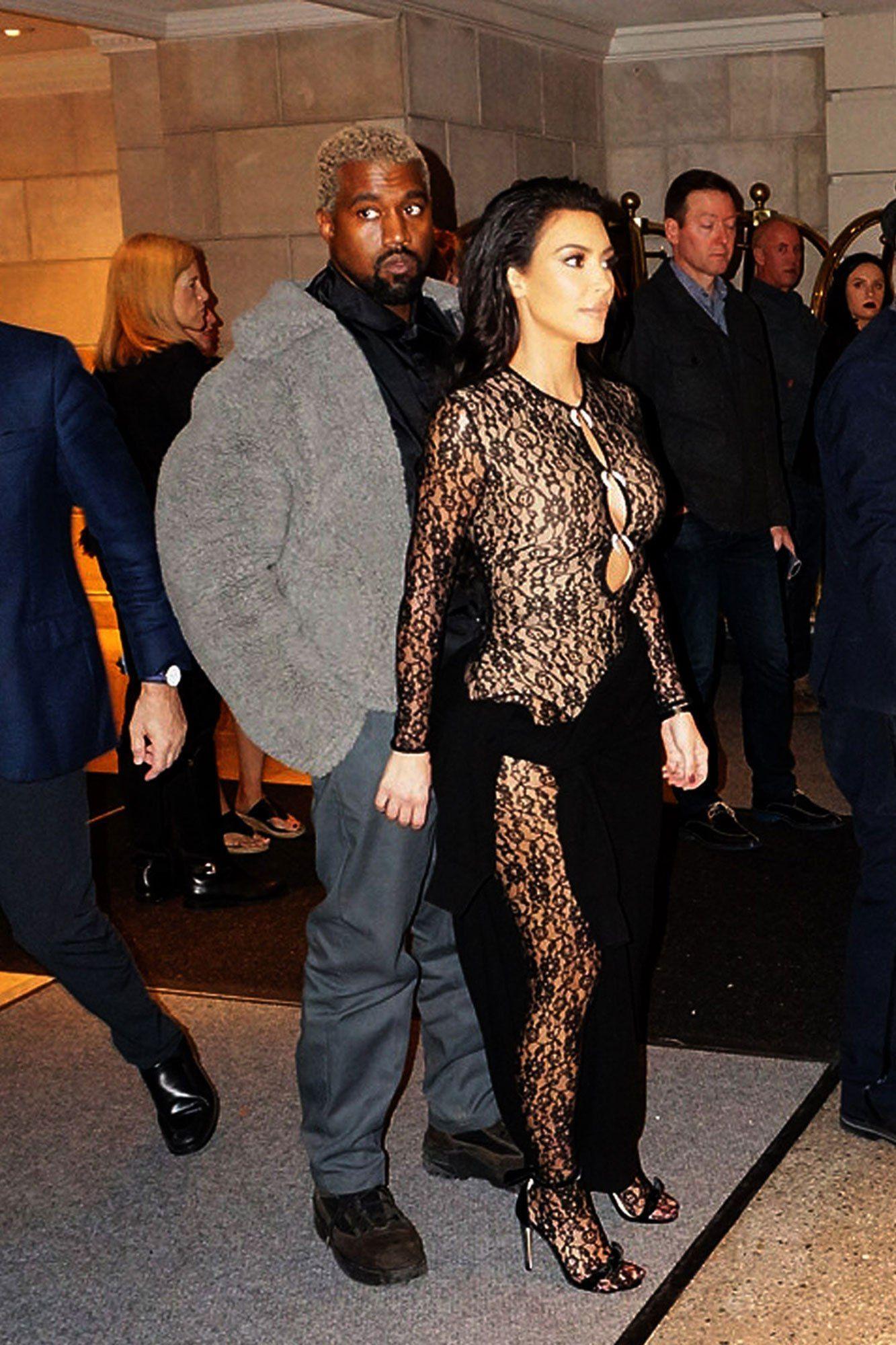 Kim Kardashian And Kanye West Celebrate John Legend S Birthday With Chrissy Teigen Kim Kardashian Kanye West Kim Kardashian Sheer Kim And Kanye
