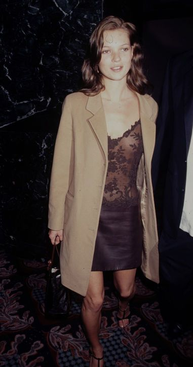 Kate Moss and that slip dress