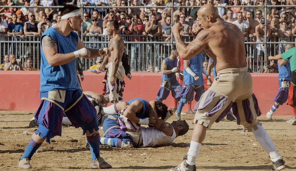 Calcio Storico Combat Sport Fight Club Fight